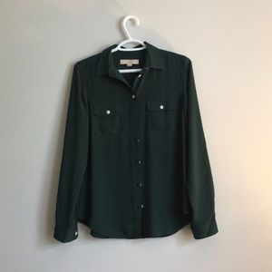Emerald Green Loft Shirt